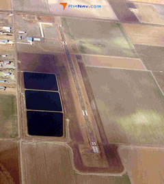 Aerial photo of KTQK (Scott City Municipal Airport)