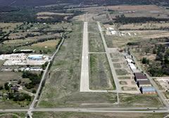 Aerial photo of KBVO (Bartlesville Municipal Airport)