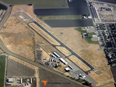 Aerial photo of KLSN (Los Banos Municipal Airport)