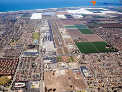 Aerial photo of KOXR (Oxnard Airport)