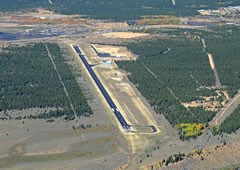 Aerial photo of KLXV (Lake County Airport)