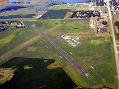 Aerial photo of 1D8 (Redfield Municipal Airport)