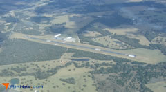 Aerial photo of KGYB (Giddings-Lee County Airport)