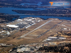 Aerial photo of KNFW (Fort Worth Naval Air Station JRB (Carswell Field) Airport)