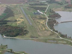 Aerial photo of KHIG (Higginsville Industrial Municipal Airport)