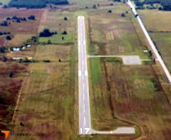 Aerial photo of F32 (Healdton Municipal Airport)