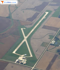 Aerial photo of KSKI (Sac City Municipal Airport)