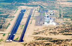 Aerial photo of KALM (Alamogordo-White Sands Regional Airport)