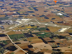 Aerial photo of KFWA (Fort Wayne International Airport)