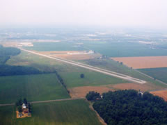 Aerial photo of 0G6 (Williams County Airport)
