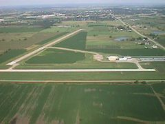Aerial photo of KCNC (Chariton Municipal Airport)