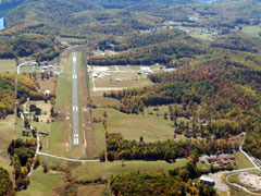 Aerial photo of 48I (Braxton County Airport)