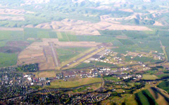 Aerial photo of KALW (Walla Walla Regional Airport)