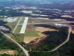 Aerial photo of KTMA (Henry Tift Myers Airport)