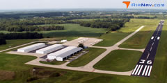 Aerial photo of KVER (Jesse Viertel Memorial Airport)