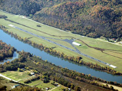 Aerial photo of 1A7 (Jackson County Airport)