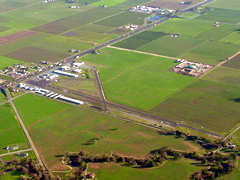 Aerial photo of 1O3 (Lodi Airport)