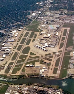 Aerial photo of KDAL (Dallas Love Field Airport)