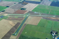 Aerial photo of KAIG (Langlade County Airport)