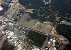 Aerial photo of 7M2 (Mountain View Airport-Wilcox Memorial Field)
