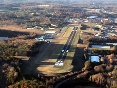 Aerial photo of KJZP (Pickens County Airport)