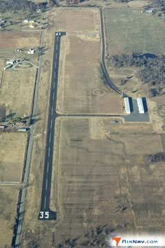 Aerial photo of F08 (Eufaula Municipal Airport)