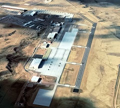 Aerial photo of KFCS (Butts Army Airfield (Fort Carson))