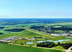Aerial photo of C77 (Poplar Grove Airport)