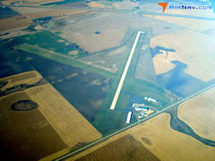 Aerial photo of 1D1 (Milbank Municipal Airport)