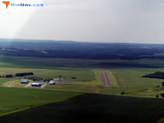 Aerial photo of 14Y (Todd Field Airport)