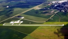 Aerial photo of 0C4 (Pender Municipal Airport)