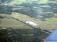 Aerial photo of 0F2 (Bowie Municipal Airport)