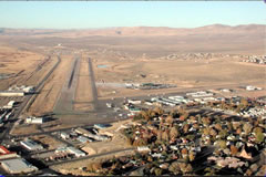 Aerial photo of KEKO (Elko Regional Airport)