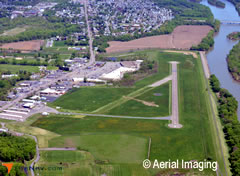 Aerial photo of KWBW (Wilkes-Barre Wyoming Valley Airport)