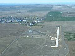 Aerial photo of 3S9 (Condon State Airport-Pauling Field)