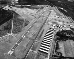 Aerial photo of KPVG (Hampton Roads Executive Airport)