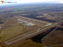 Aerial photo of KLCH (Lake Charles Regional Airport)