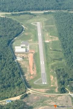 Aerial photo of 15M (Iuka Airport)