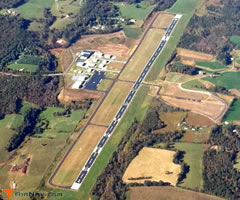 Aerial photo of KUKF (Wilkes County Airport)