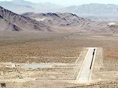 Aerial photo of NV65 (Desert Rock Airport)
