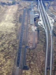 Aerial photo of O46 (Weed Airport)