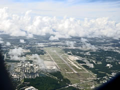 Aerial photo of KMYR (Myrtle Beach International Airport)