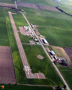 Aerial photo of A30 (Scott Valley Airport)