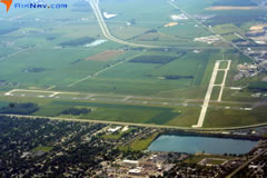 Aerial photo of KFDY (Findlay Airport)