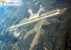 Aerial photo of KHTS (Tri-State Airport/Milton J. Ferguson Field)