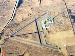 Aerial photo of P08 (Coolidge Municipal Airport)
