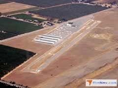 Aerial photo of O32 (Reedley Municipal Airport)