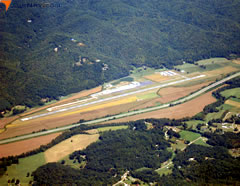 Aerial photo of KRHP (Western Carolina Regional Airport)