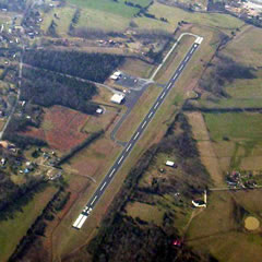 Aerial photo of KAPT (Marion County Airport-Brown Field)