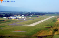 Aerial photo of KRVL (Mifflin County Airport)